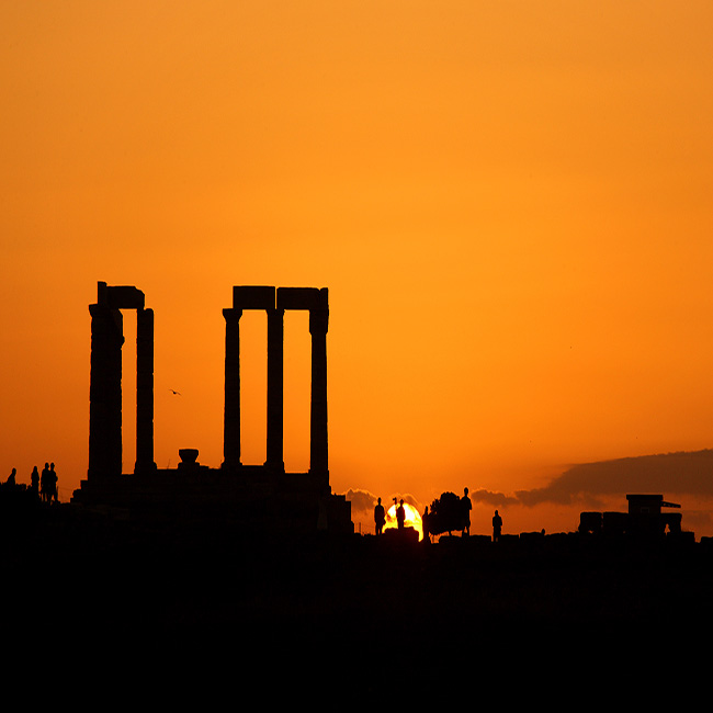 Sounio Sunset – Athens by night